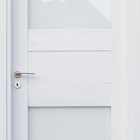 porta in legno laminato