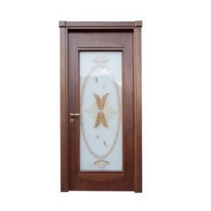 porta marrone classica