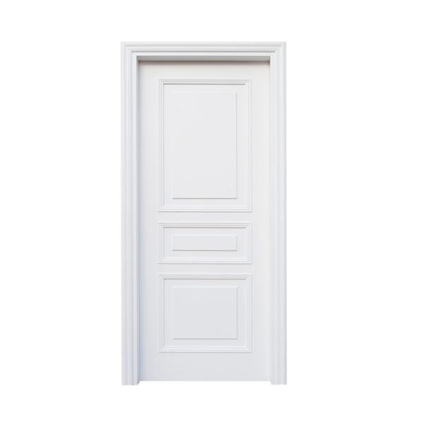 porta coloniale bianca