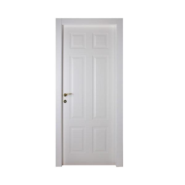 porta bianca pantografata