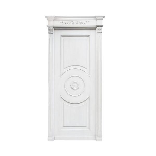 porta bianca classica pantografata